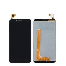 Untuk Alcatel Satu Sentuh Idol 2 6037 OT6037 OT6037L OT6037B Layar Sentuh Tampilan LCD dengan Digitizer Penuh Perakitan + Bebas 3 M Tape + Membuka Alat Perbaikan + Lem-Internasional