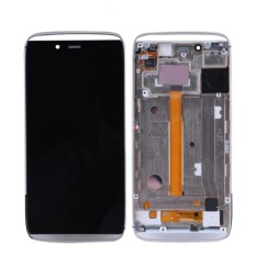 For Alcatel One Touch Idol Alpha OT6032 6032 LCD Screen Display + Touch Screen Digitizer with Frame Assembly - intl