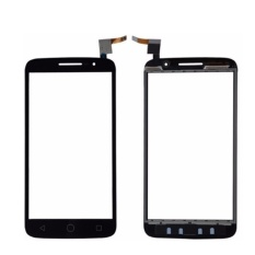 untuk Alcatel One Touch POP 2 OT 7043 OT7043 Layar Sentuh Hitam Kaca Depan Digitizer Touch Panel Sensor-Intl