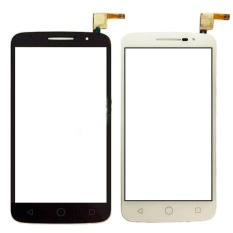 Untuk Alcatel Satu Touch POP 2 OT 7043 OT7043 Layar Sentuh Putih Depan Kaca Digitizer Panel Sentuh Sensor-Intl