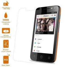 untuk Alcatel OneTouch Pixi 4 (4) Mobile Tempered Glass Pelindung Layar Film 0.3mm (Arc EDGE) -Intl