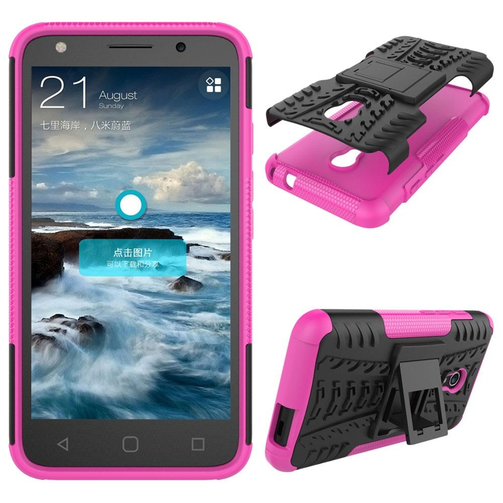 For ALCATEL PIXI 4 4G 5045X 5'' Heavy Duty Shockproof Stand Case Cover - intl