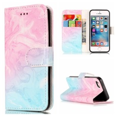 for Apple iPhone 5 / 5S / SE Case Cover - Classic Fashion Style Wallet Flip Stand PU Leather Phone Case - YH80 - intl