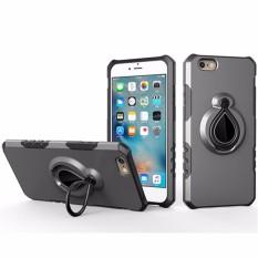 Untuk Apple iPhone SE 5 S Case [AIR-Jatuh Pelindung] 360 Derajat Berputar Lingkaran Case Belakang sarung, dibangun Di-Dalam Lingkaran Penahan Stand Penyangga, Bisa Bekerja dengan Dudukan Mobil Magnetik, Tahan Tahan, Tahan Goncangan-Internasional