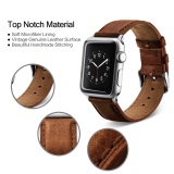 Beli Barang Untuk Apple Watch Band Kulit 42Mm Gelang Kulit Watchband Adaptor Untuk Apple Watch Strap 42Mm Iwatch Strap Intl Online