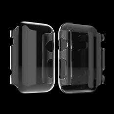 For Apple Watch Iwatch 38Mm Clear Hard Protective Case Cover Screen Protector Intl Tiongkok