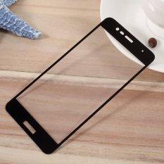 For Asus Zenfone 3 Max ZC520 TL Penuh Layar Cover Tempered Film Kaca Mobile Pelindung-hitam