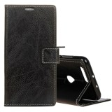 Promo For Asus Zenfone Max Plus M1 Zb570Tl Retro Crazy Horse Texture Horizontal Flip Leather Case With Holder And Card Slots And Wallet And Photo Frame Black Intl Akhir Tahun