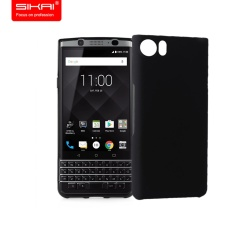 For Blackberry Keyone Mercury DTEK70 Case. Fashion Hard Cover Silicone Scrub Kembali Kasus Penutup untuk BlackBerry DTEK70 handphone Casing (hitam)