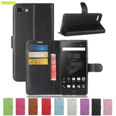 untuk BlackBerry Motion Leather Dompet Case Cover untuk BlackBerry Motion PU Kulit Retro Flip Cover Fashion Casing-Intl