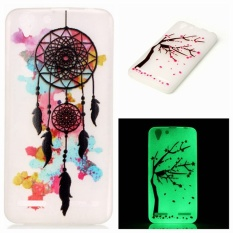 untuk Coque Lenovo VIBE K5 Case Silicone Luminous Phone Case untuk Lenovo K5 A6020 6020 A40 A36/Vibe K5 Plus K5Plus Leather Case Fundas-Intl