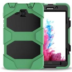 Untuk Samsung Galaxy Tab A 7.0 [SM-T280] Caes, shockproof DUST-Proof Keras Tugas Berat Pelindung Desain dengan Kickstand Pelindung Case untuk Samsung Galaxy Tab A 7.0 7 Inch (SM-T280/ SM-T285) (T280G Hijau Tentara)-Intl