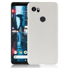 Untuk Google Piksel 2 XL Tas Telepon Case Mewah Kulit Buaya PU Kulit Pelindung Case Sarung Untuk Google Piksel 2 XL-Internasional