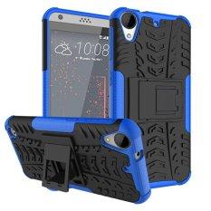 untuk HTC 530 Case, Hard PC + TPU Tahan Guncangan Sulit Dual Layer Menutupi Shell untuk HTC Desire 630, Biru-Intl