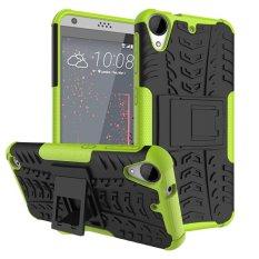 untuk HTC 530 Case, Hard PC + TPU Tahan Guncangan Sulit Dual Layer Menutupi Shell untuk HTC Desire 630, Hijau-Intl