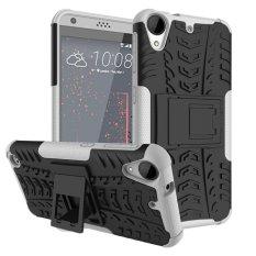 untuk HTC 530 Case, Hard PC + TPU Tahan Guncangan Sulit Dual Layer Menutupi Shell untuk HTC Desire 630, Putih-Intl