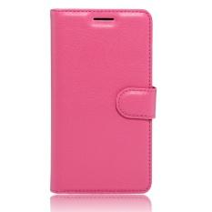 untuk HTC Desire 10 Pro Case Cover-PU Kulit Klasik Fashion Style Dompet Flip Stand Phone Case-Intl