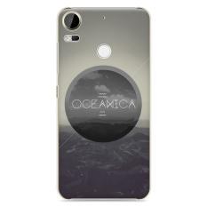 untuk HTC Desire 10 Pro Orisinalitas Unik Fashion Kartun Case Belakang Melindungi Kulit Cover Painting Hard Casing untuk Desire10 Pro handphone Perumahan Shell + Hadiah Gratis Dudukan Telepon-Internasional