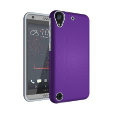 untuk HTC Desire 530 630 Ultra Slim Anti-Slip Shockproof Telepon Kembali Casing Penutup (Ungu)-Intl