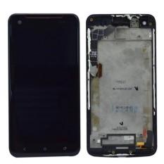 Untuk HTC Droid DNA ADR6435 LCD Tampilan + Layar Sentuh dengan Digitizer Assembly + Bingkai-Internasional