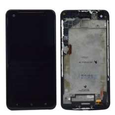 untuk HTC Droid DNA ADR6435 LCD Display + Touch Screen dengan Digitizer Assembly + Bingkai-Internasional