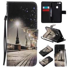 untuk HTC Google Pixel XL Case Cover-Gaya Busana Klasik Dompet Flip Stand PU Kulit Phone Case-KT16 -Intl