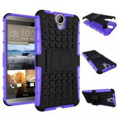 untuk HTC One E9 + PLUS Cover Heavy Duty Impact Hybrid Armor Case Kick-Stand Hard Plastik Case untuk HTC ONE E9 Plus A55 Stand Case-Internasional