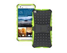 untuk HTC One X9 Case Heavy Duty Phone Cover untuk HTC X9 Hybrid Shockproof Hard Armor Rugged Karet TPU Coque dengan Stand (Hijau) -Intl