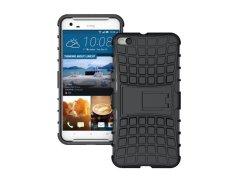 untuk HTC One X9 Case Heavy Duty Phone Cover untuk HTC X9 Hybrid Shockproof Hard Armor Rugged Karet TPU Coque dengan Stand (Hitam) -Intl