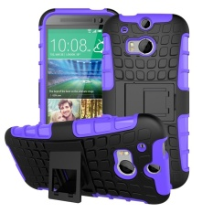 for HTC One2 M8 Case, Hard PC+TPU Shockproof Tough Dual Layer Cover Shell for 5.0