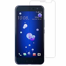for HTC U11 Tempered Glass Film Ultra Thin Screen Protector Guard HD 9H, Scratch Proof, Anti-burst, 99.9% Light Transmission (2-Pack) - intl