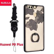 untuk Huawei P9 Plus Case Penutup Baru Hot Jual Fashion Ultra Tipis 3D Stereo Relief Colorful Painting Soft Back Covers/Anti Jatuh Ponsel Cover/Tahan Guncangan Ponsel Case dengan Logam Cincin dan Ponsel Tali (FENGYE) -Intl
