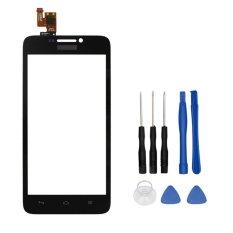 untuk Huawei Ascend G630 Black Touch Panel Digitizer Layar Sentuh Asli Sensor Pengganti-Internasional