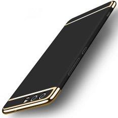 untuk Huawei P10 Hard PC + Akrilik Luxury 3 In 1 Anti Knock Armor Belakang Case Cover-Intl