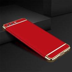 untuk Huawei P10 Ultra Slim Hard Armor Shell Hibrida Edge Plating Punggung Aksesoris Menutupi Case-Intl
