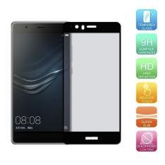 Untuk Huawei P9 Plus Premium Penuh 2.5D Cover 0.3 Mm 9 H Kaca Antigores Pelindung Layar-Intl