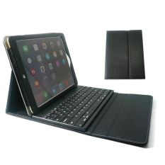 Untuk iPad Air/Air 2 Wireless Keyboard Bluetooth Folio Case kulit penutup hitam - International