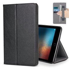 untuk IPad Pro 10.5 Case, Premium Kulit Multiple Viewing Stand Cover dengan Tangan Tali, Auto Wake/