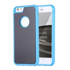 untuk IPhone 6 dan 6 S Anti-gravitasi Ajaib Nano Teknologi Sticky Selfie Pelindung Case (Biru) -Intl