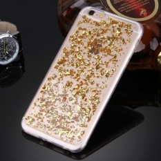 untuk IPhone 6 Plus dan 6 S Plus Tersebar Platinum Pola TPU Pelindung Case (Emas)-Intl
