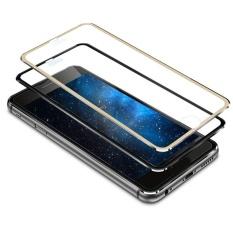 untuk IPhone 6 S Pelindung Layar Anti Gores Penuh 3D Melengkung 9 H Logam Buatan-Internasional