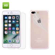 Untuk iPhone 7 Plus HD Penuh Depan + Belakang Layar Pelindung (Taiwan Bahan)-Internasional