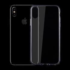 untuk IPhone 8 0.75mm Ultra Tipis Transparan TPU Pelindung Case, Kecil Kuantitas Dianjurkan Sebelum IPhone 8 Launching (Transparan)-Intl