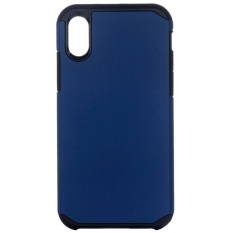 For iPhone 8 PC + TPU Rugged Armor Combination Protective Back Cover Case, Small Quantity Recommended Before iPhone 8 Launching(navy) - intl