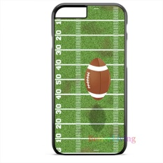 For Iphone 8 Plus American Football Field Soft Rubber Cover Shockproof Mobile Phone Case