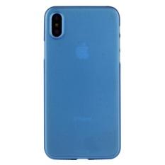 untuk IPhone 8 PP Pelindung Kembali Tudung Case, Kecil Kuantitas Dianjurkan Sebelum IPhone 8 Launching (Biru) -Intl