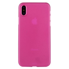 untuk IPhone 8 PP Pelindung Kembali Tudung Case, Kecil Kuantitas Dianjurkan Sebelum IPhone 8 Launching (Magenta) -Intl