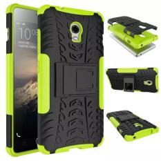 untuk Lenovo VIBE P1 Case Berkualitas Tinggi dengan Holder Protector TPU + Hard Back Case Cover untuk Lenovo VIBE P1 smartphone (Hijau)