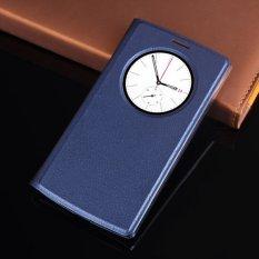 Untuk LG G4s G4 Case Kulit Cepat Smart Lingkaran Pandangan Auto Tidur Flip Penutup Ponsel Case S Sarung untuk G4 Mengalahkan g4s H731 H735 H736-Intl