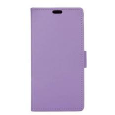 untuk LG Q8 Penutup Dudukan Flip Case Kulit Dompet Slot Kartu dengan Penutupan Magnetik-Intl